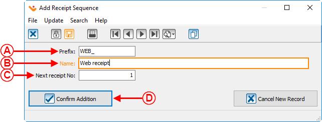 ProDonConfiguration of a Standard Type Receipt Logilys – Standard Receipt
