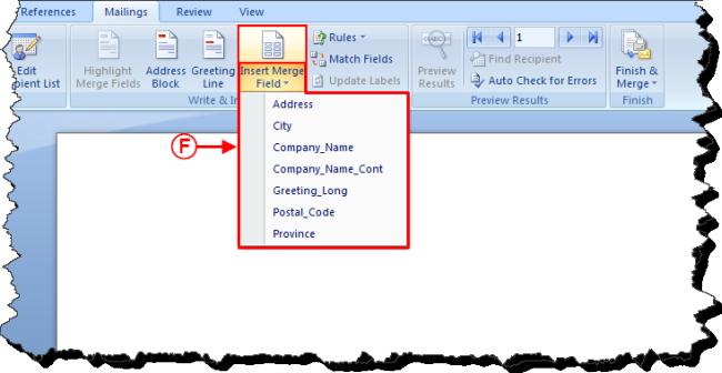 Prodon Labels Or Envelopes Word 2010
